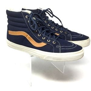 Vans Men's Sneakers Size 11.5 Checkered Black